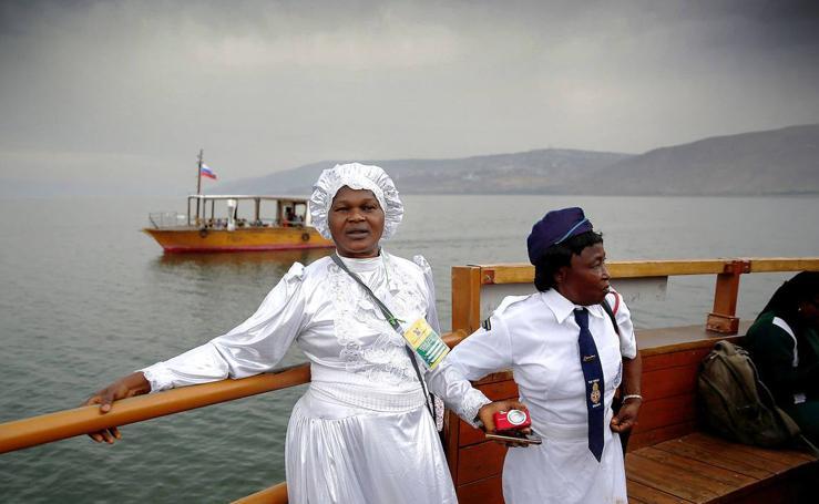 El Mar de Galilea desciende de nivel