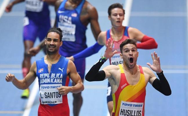 Husillos, descalificado tras ganar la final de 400 metros
