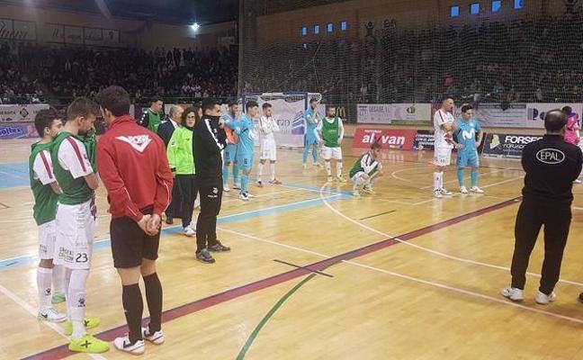 El utillero del Movistar Inter, Cecilio Rodríguez, muere durante un partido en Segovia
