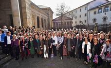 Las políticas vascas alzan la voz por la igualdad en Gernika