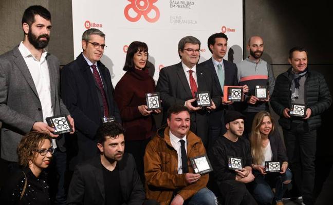 Bilbao reconoce a 130 nuevas empresas creadas durante 2017