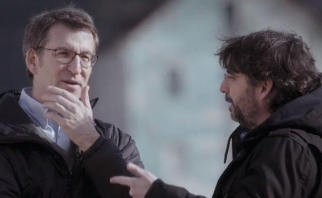 Feijoo, en 'Salvados': «No contemplo suceder a Rajoy»