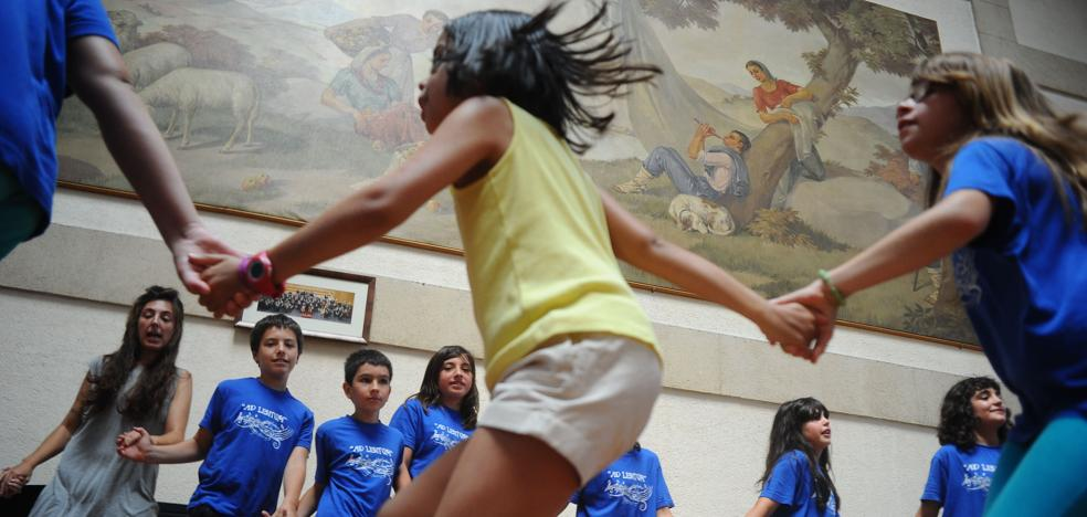 Los Udalekus ofertan este verano 4.642 plazas para niños de 7 a 13 años