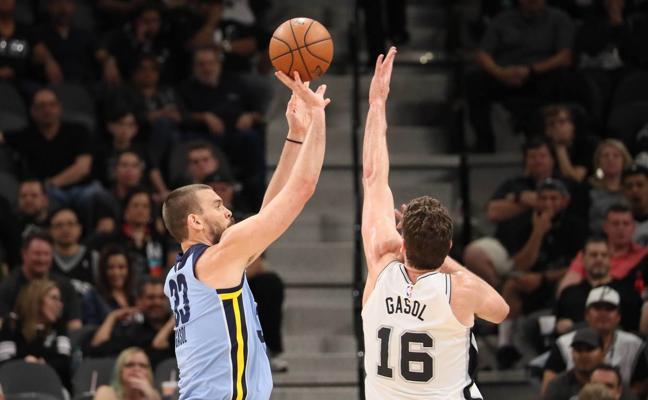 Marc Gasol no evita la derrota de los Grizzlies ante los Spurs