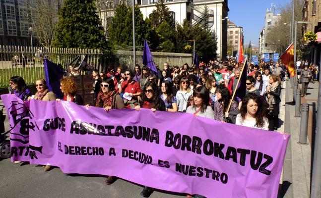 El 8 de marzo en Álava: movilizaciones, concentraciones y paros