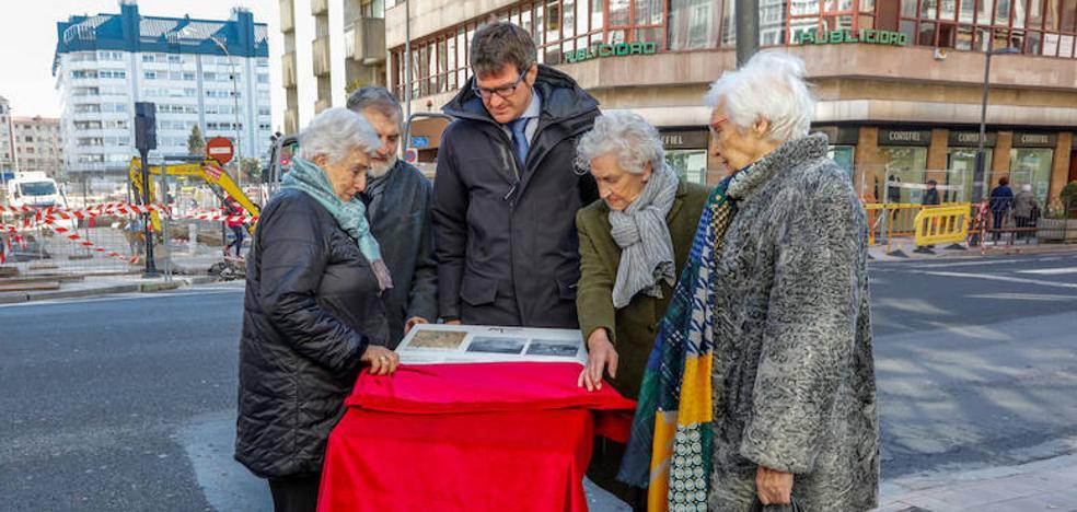 Vitoria recuerda a los presos fusilados en la Guerra frente al lugar donde estuvo la prisión provincial