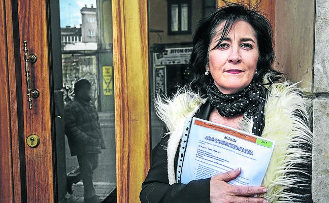 Olga Ocariz: «No me dejan ser del txoko de mi aita»