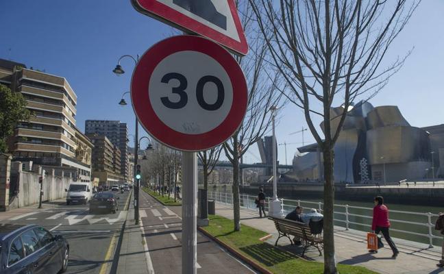Bilbao prohibirá circular a más de 30 kilómetros por hora desde el 30 de mayo