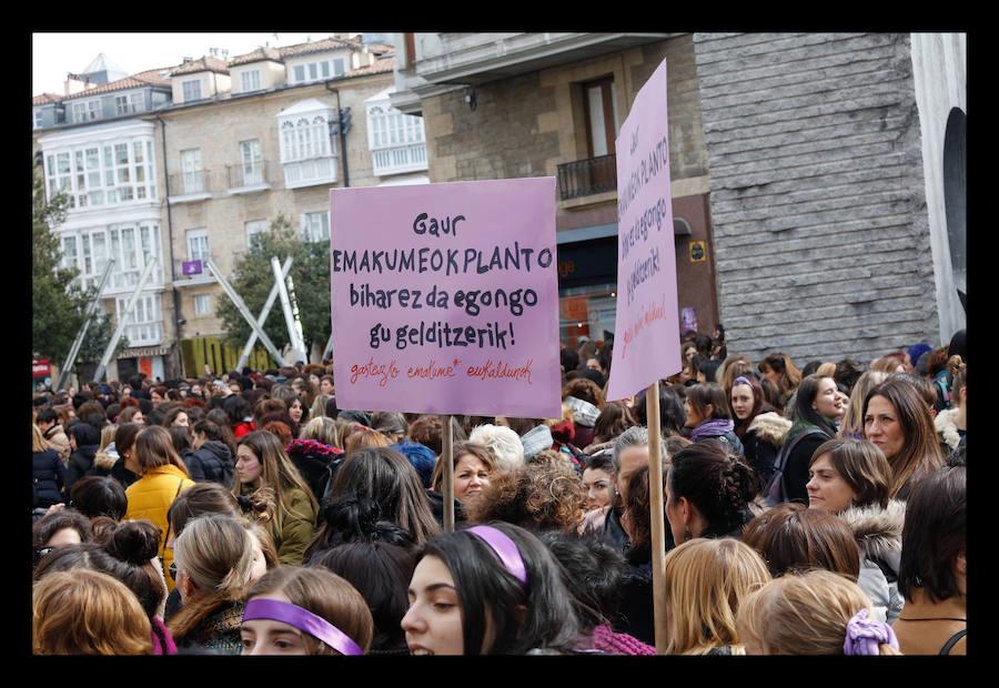 La jornada de huelga feminista del #8-M, en imágenes