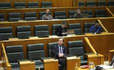 Un pleno del Parlamento vasco sin las representantes de EH Bildu, Elkarrekin Podemos y PSE