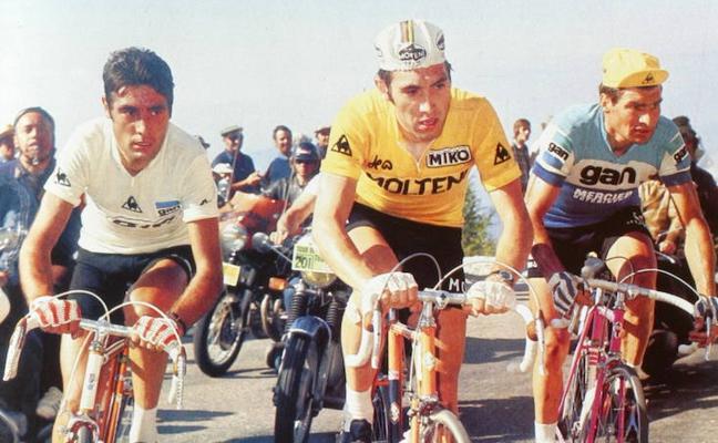 Ocho momentos clave en la carrera de Eddy Merckx
