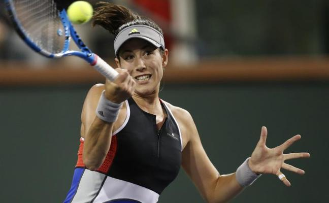 Muguruza se estrella ante Vickery y se despide de Indian Wells