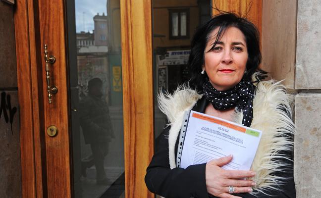La sociedad gastronómica Burduntzi invita a Olga a hacerse socia