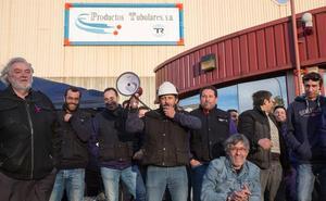 Ruidosa marcha contra los despidos de la plantilla de Productos Tubulares