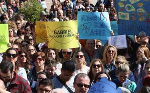 El alcalde de Almería convoca una concentración a las 19 horas por la «terrible pérdida» de Gabriel Cruz