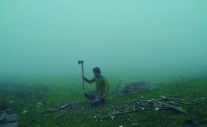 100 días solo en la montaña