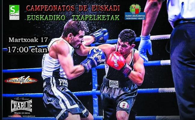 Euskadiko Boxeo Txapelketak, asteburu honetan, Sestaon