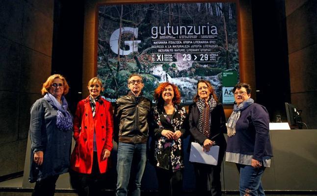 Gutun Zuriaren edizio berria, Azkuna Zentroan