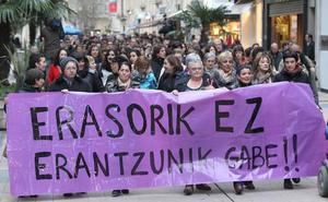 Las denuncias por violencia de género aumentan en Álava: ya son casi tres al día