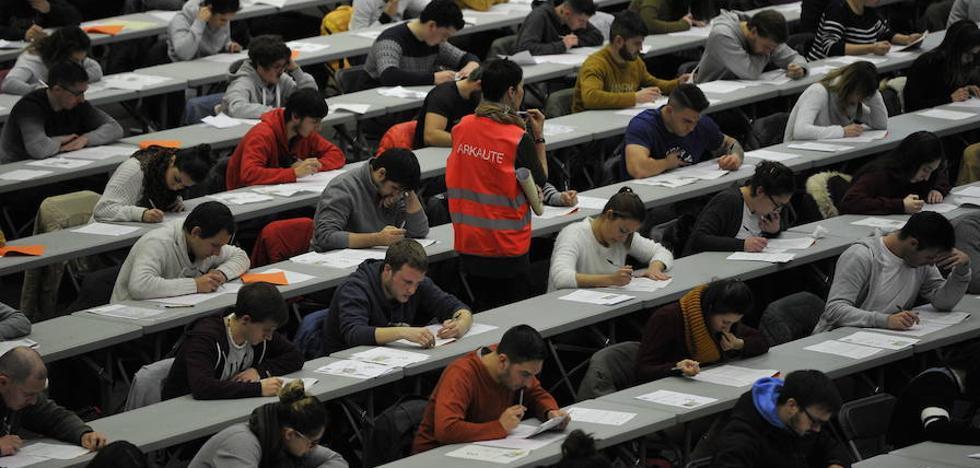 Oposiciones en Euskadi: 6.000 empleos como para perder el sueño