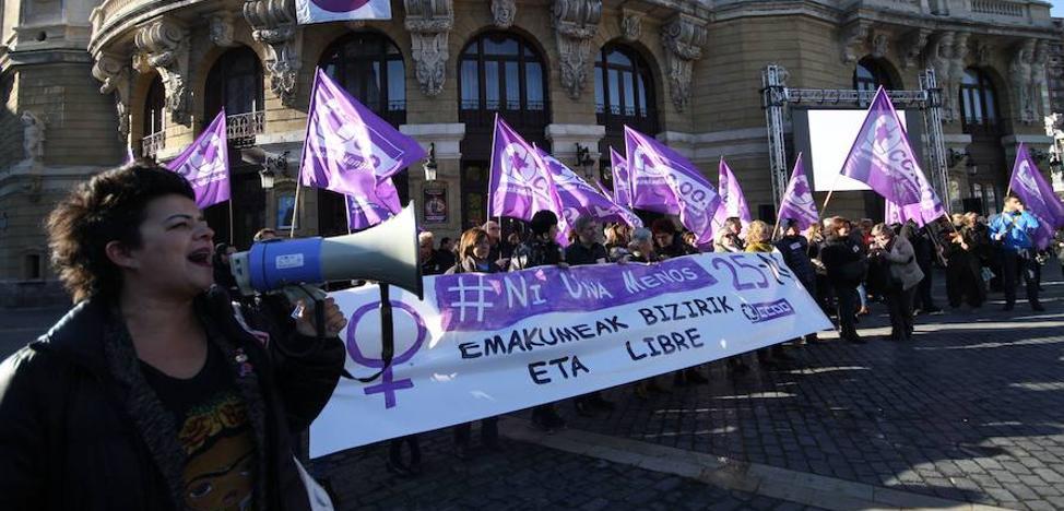Las denuncias por violencia de género se disparan en Bizkaia un 14% hasta máximos históricos: ya son ocho al día