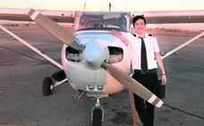Piloto de avioneta a los 16 años