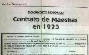 El alucinante contrato para maestras de 1923
