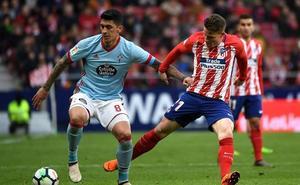 Gameiro sufre una lesión miofascial y Diego Costa una contusión