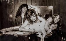La melena suelta de Metallica