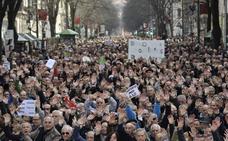 Las nuevas pensiones de jubilación acumulan ya dos años a la baja en Euskadi