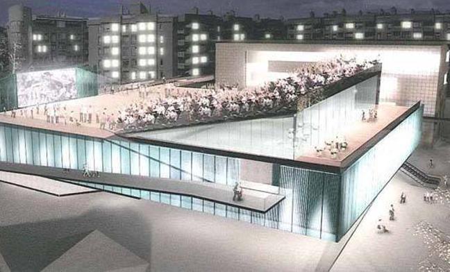 Galdakao retoma la construcción del centro Antenna y los ascensores de Aperribai