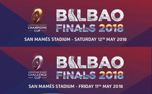 Entradas para las finales de Rugby 2018 en Bilbao