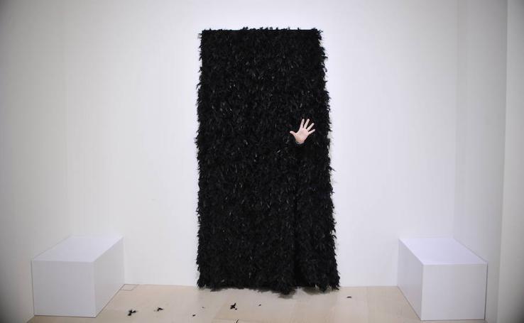 Exposición de Esther Ferrer en el Guggenheim