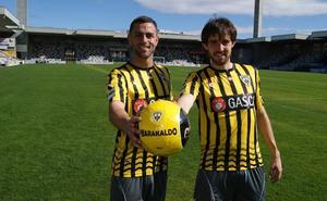 El Barakaldo estrenará camiseta ante el Peña Sport