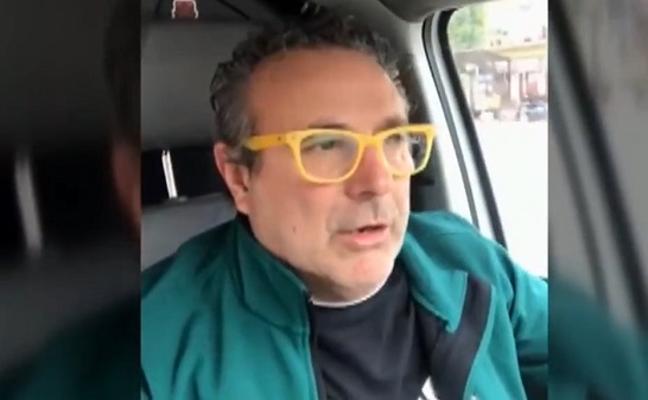 Un repartidor se burla de la huelga feminista, lo graba en vídeo... y es detenido por circular sin carné