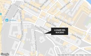 Detienen a un hombre por traficar con heroína en la calle Concepción de Bilbao
