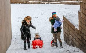 Un «brusco» cambio de tiempo podría traer de nuevo la nieve a Álava