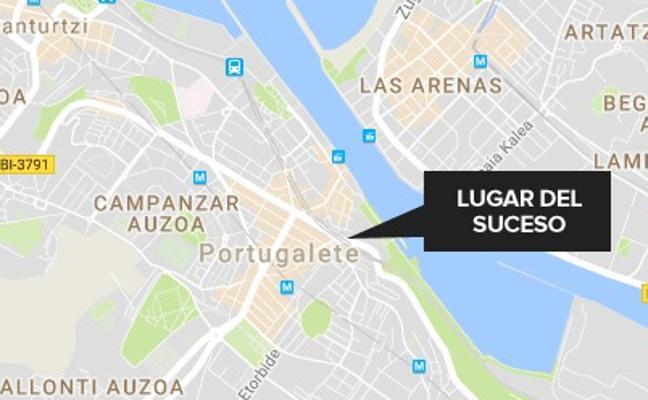 Detenido por agredir a su expareja en Portugalete