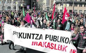 Los sindicatos amenazan a Educación con mantener los paros