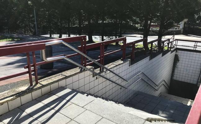 Abanto creará un paseo de rampas para hacer accesible el túnel bajo la N-634 en Las Carreras