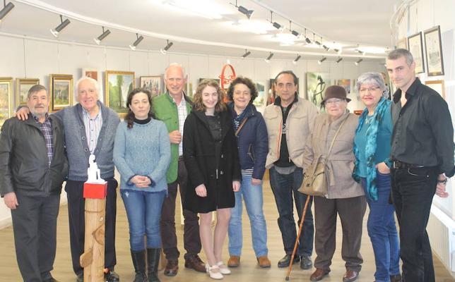 La sala de muestras de Durango se renueva para visilizar la «alta calidad» de los artistas de la zona
