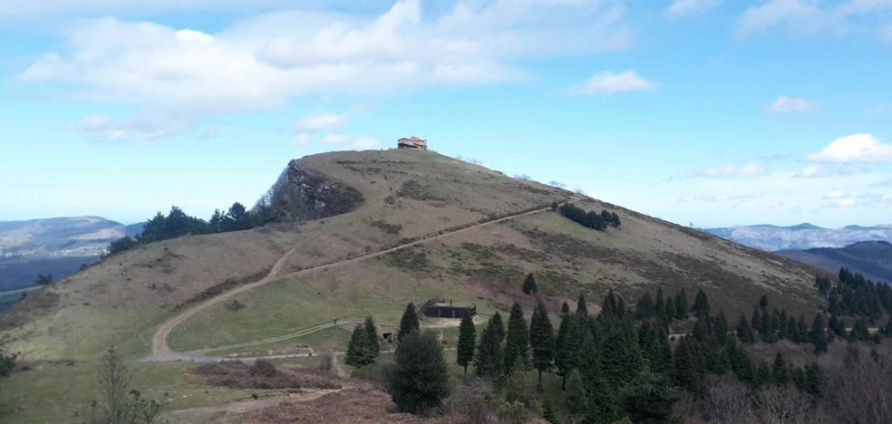 Rutas de montaña: Kolitza (883 m.)