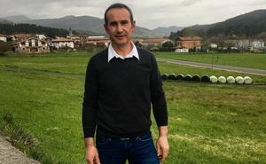 Alberto Intxaurraga, candidato del PNV a alcalde de Artea