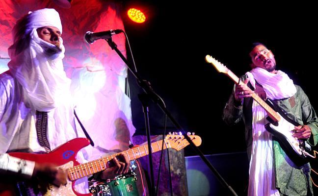 Turbantes, sandalias y Stratocasters con Mdou Moctar