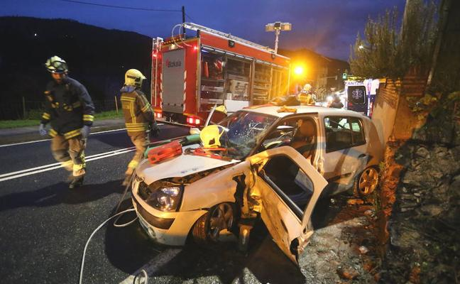 Aumentan un 8% hasta febrero los accidentes de tráfico con víctimas en las carreteras vascas