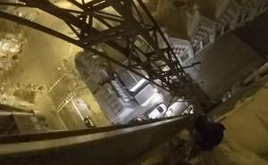 Varios 'youtubers' escalan la Sagrada Familia burlando la seguridad