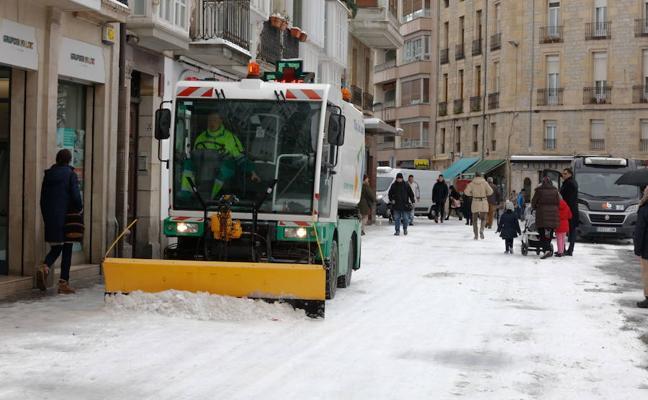 Activan la alerta amarilla por nevadas en Álava a partir de esta tarde