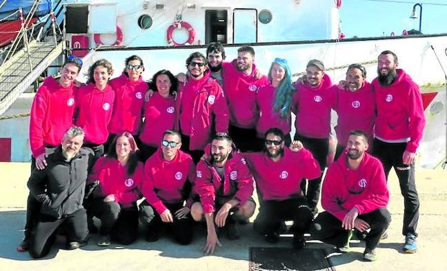 Un barakaldés, jefe de máquinas del barco retenido en Italia por rescatar inmigrantes