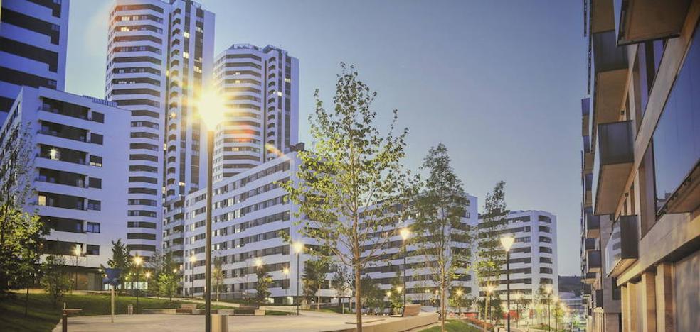 Sale a la venta por 30 millones el solar de Bilbao donde se edificará una torre de 150 metros