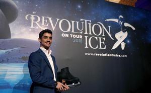 Javier Fernández lleva su fusión de patinaje y música a Pamplona y Málaga